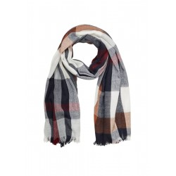 XXL woven scarf with a check pattern by s.Oliver Red Label