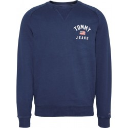 Chest graphic regular fit sweatshirt by Tommy Jeans
