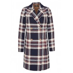 Transitional coat with a woven pattern by s.Oliver Black Label