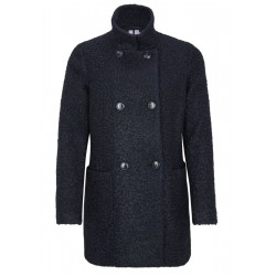 Elegant bouclé coat by s.Oliver Black Label
