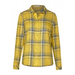 Checked blouse with dots by Cecil