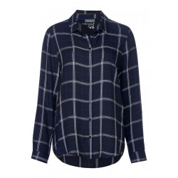 Shirt blouse with check Sia by Street One