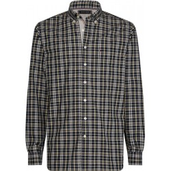 Regular fit windowpane check shirt by Tommy Hilfiger