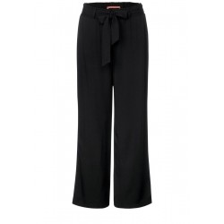 Basic Wide Leg pants by Street One
