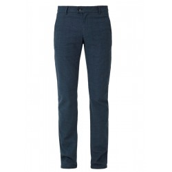 Slim: Prince of Wales chinos by s.Oliver Red Label