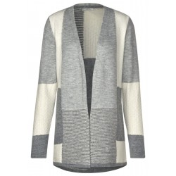 Cardigan with patchwork by Cecil