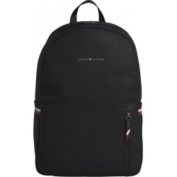 Essential pebble grain logo backpack by Tommy Hilfiger