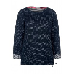 Long sleeve shirt with dots by Cecil