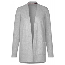 Structured Open Sweatjacket by Cecil