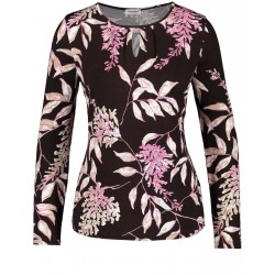 Long sleeve top with a floral pattern by Gerry Weber Collection