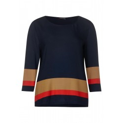 Shirt with color block Phibie by Street One