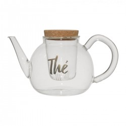 Teapot with filter (18x14,5x14x5cm) by SEMA Design