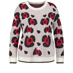 Jumper with an animal pattern by Samoon