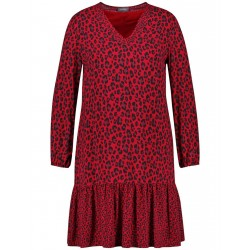 Dress with a leopard print by Samoon
