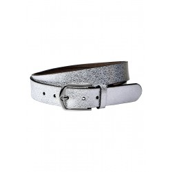 Leather belt with pattern by Street One