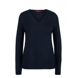 V-Neck-Pulli aus softer Wollmischung by s.Oliver Red Label