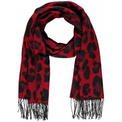 Scarf with an animal print by Samoon