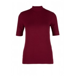 Ribbed top made of viscose by s.Oliver Red Label