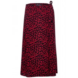 Wrap skirt with pattern by Street One