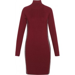 Funnel neck jumper dress by Tommy Jeans