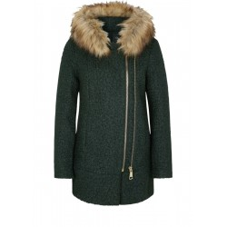 Winter jacket with faux fur by s.Oliver Black Label