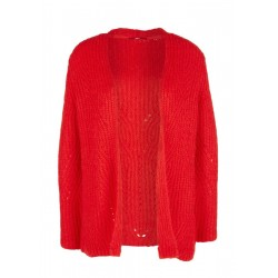 Cardigan with a textured pattern by s.Oliver Red Label