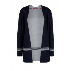 Cardigan with a contrasting interior by s.Oliver Red Label