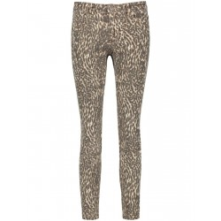Skinny Jeans with leopard print by Taifun