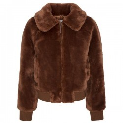 Faux fur Bomber by Pepe Jeans London