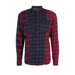 Regular: Check shirt made of fine flannel by s.Oliver Red Label