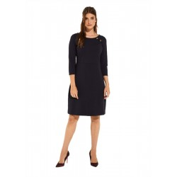 Dress with 3/4-length sleeves by Comma