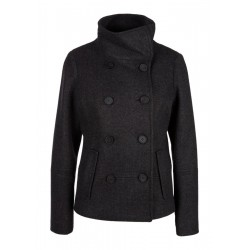 Pea coat with a large collar by s.Oliver Red Label