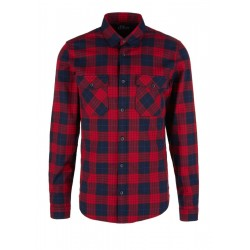 Slim: check shirt by s.Oliver Red Label