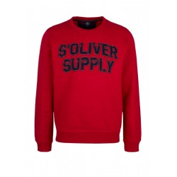 Sweatshirt mit Label-Patches by s.Oliver Red Label