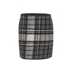 Wollrock Ravenna wool check by Opus