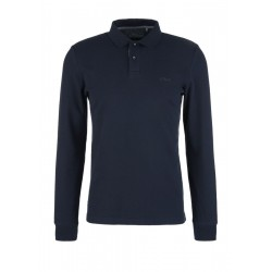 Slim: Piqué long sleeve polo shirt by s.Oliver Red Label