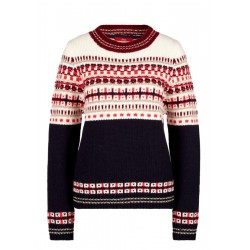 Wool blend jumper with jacquard by s.Oliver Red Label