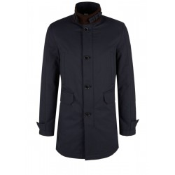 Twill business coat with contrasting collar by s.Oliver Black Label