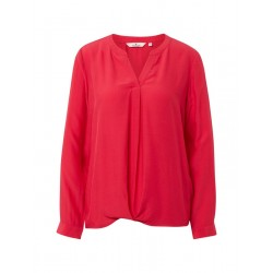Blouse in crepe structure by Tom Tailor