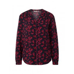 Blouse with flower pattern by Tom Tailor