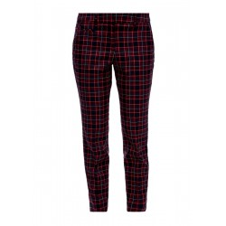 Ankle-length check trousers by s.Oliver Red Label