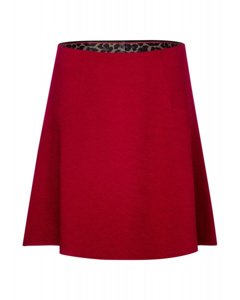 Skirt uni with  leo structure by Street One