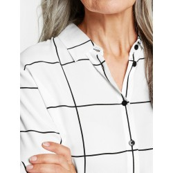 Bluse mit Fensterkaro by Gerry Weber Collection