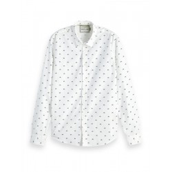 Shirt with allover print by Scotch & Soda
