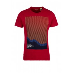 Slim: T-shirt with a front print by s.Oliver Red Label