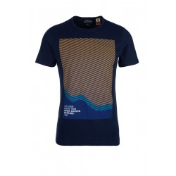 Slim: T-Shirt mit Frontprint by s.Oliver Red Label
