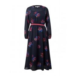 Maxi-dress with flower pattern by Tom Tailor Denim