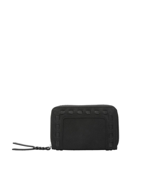 Zip purse with braided details by s.Oliver Red Label