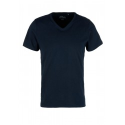 Slim: Basicshirt mit V-Ausschnitt by s.Oliver Red Label