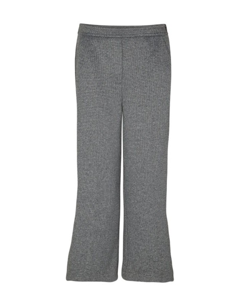 Loose 7/8-length trousers with a textured finish by s.Oliver Black Label